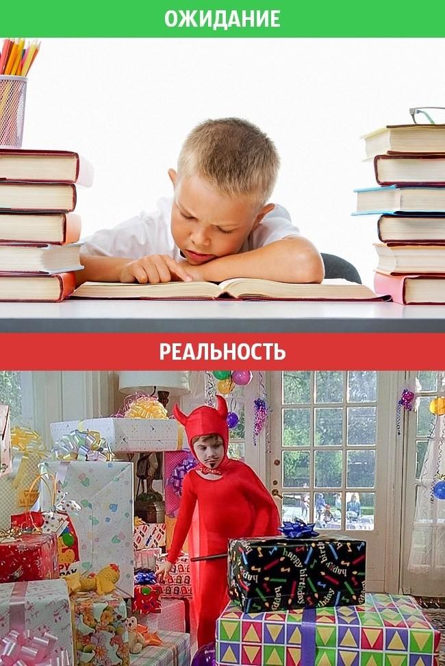 Идеальная семейная жизнь: ожидание vs. реальность