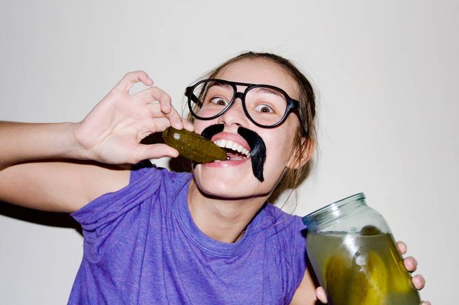 Люди на блюде:  фотограф Лена Важенина и её волшебная дикость