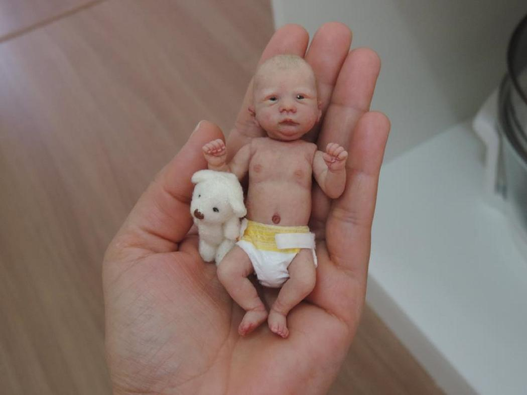 Счастье в ладошке: гиперреалистичные младенцы из полимерной глины