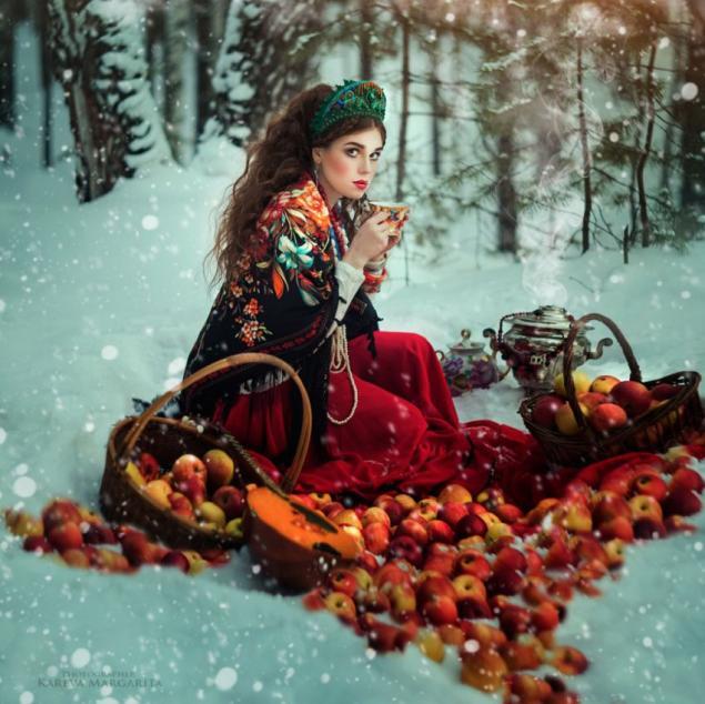 Эта девушка-фотограф воплощает русские сказки в реальность