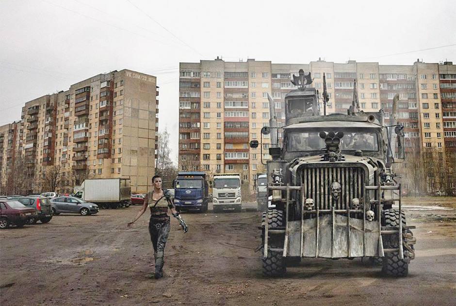 Упоротый арт: западные звезды в российской реальности