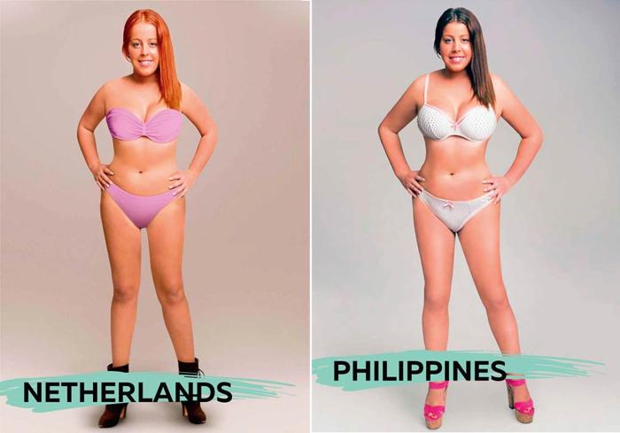 Канон красоты: как выглядит идеальная женщина в разных странах