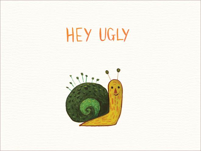 Забавные открытки для врагов