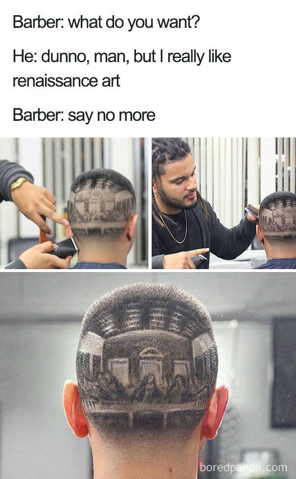 «Больше ни слова»: шедевры парикмахеров с неуемной фантазией