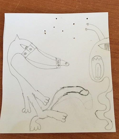 Неуместные детские рисунки