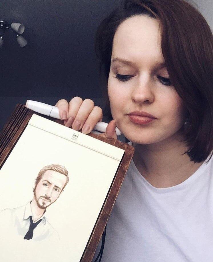 Люди на блюде: художница Лера Кирьякова