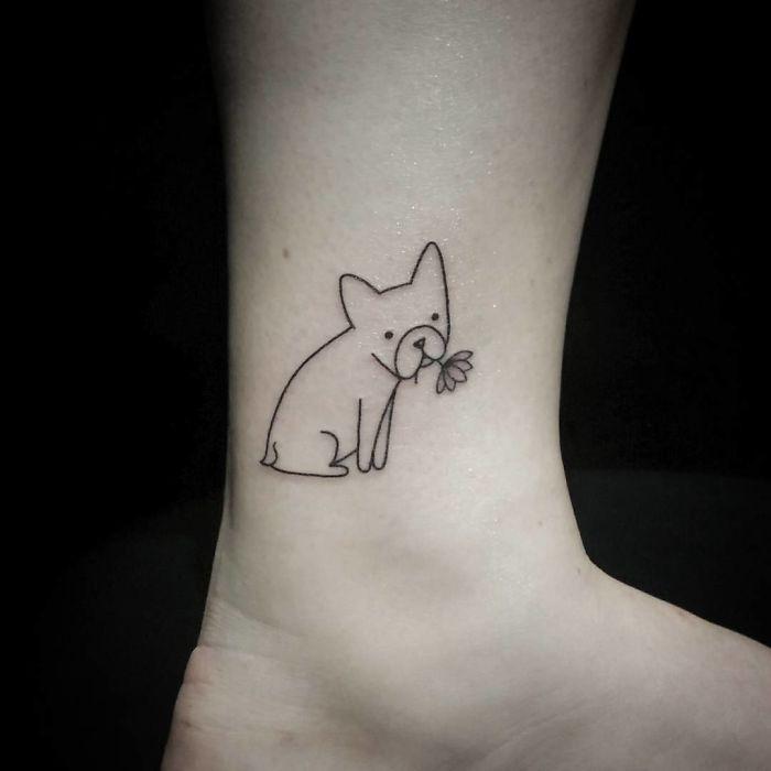Любовь к собакам - это навсегда: идеи татуировок для собачников