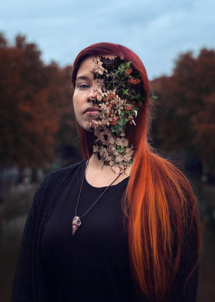 Мощные фотографии людей, поглощённых матерью природой